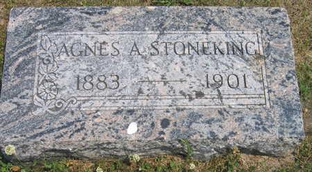 STONEKING, AGNES A. - Linn County, Iowa   AGNES A. STONEKING