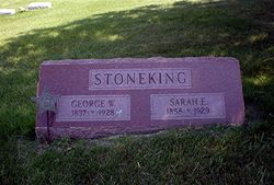 STONEKING, SARAH - Linn County, Iowa   SARAH STONEKING