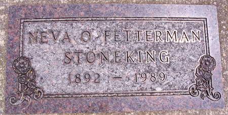 FETTERMAN STONEKING, NEVA O. - Linn County, Iowa | NEVA O. FETTERMAN STONEKING