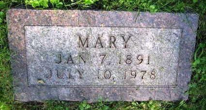 STOURAC, MARY - Linn County, Iowa | MARY STOURAC
