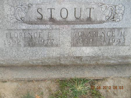 STOUT, CLARENCE M. - Linn County, Iowa | CLARENCE M. STOUT