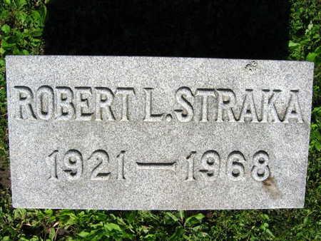 STRAKA, ROBERT L. - Linn County, Iowa | ROBERT L. STRAKA