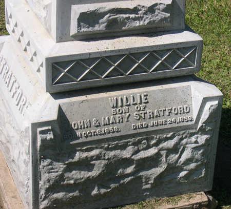 STRATFORD, WILLIE - Linn County, Iowa | WILLIE STRATFORD