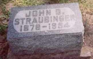 STRAUBINGER, JOHN B. - Linn County, Iowa | JOHN B. STRAUBINGER