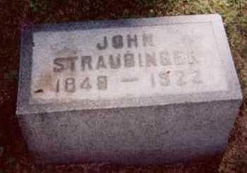 STRAUBINGER, JOHN - Linn County, Iowa | JOHN STRAUBINGER