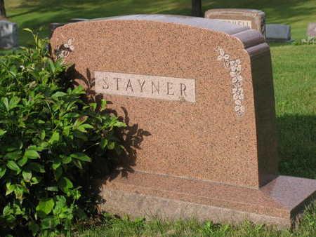 STAYNER, FAMILY STONE - Linn County, Iowa | FAMILY STONE STAYNER
