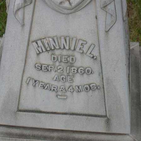 STREAM, MINNIE L. - Linn County, Iowa | MINNIE L. STREAM