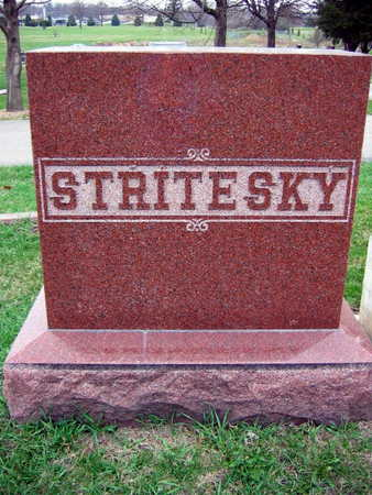 STRITESKY, FAMILY STONE  (STRITESKY POSPISHIL) - Linn County, Iowa | FAMILY STONE  (STRITESKY POSPISHIL) STRITESKY