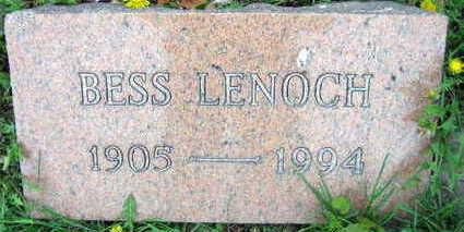 LENOCH, BESS - Linn County, Iowa   BESS LENOCH