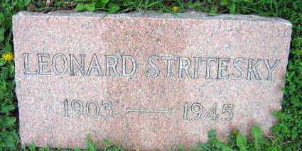 STRITESKY, LEONARD - Linn County, Iowa | LEONARD STRITESKY