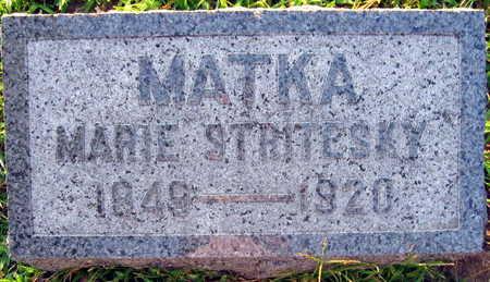 STRITESKY, MARIE - Linn County, Iowa   MARIE STRITESKY