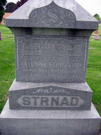 STRNAD, FRANTISEK - Linn County, Iowa | FRANTISEK STRNAD