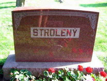 STROLENY, FAMILY STONE - Linn County, Iowa   FAMILY STONE STROLENY
