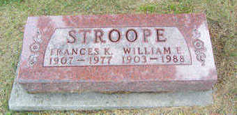 STROOPE, FRANCES K. - Linn County, Iowa | FRANCES K. STROOPE