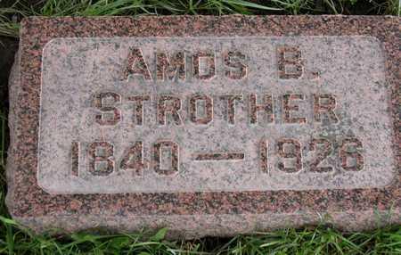 STROTHER, AMOS B. - Linn County, Iowa   AMOS B. STROTHER