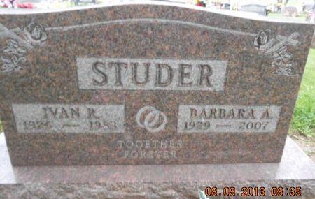 STUDER, IVAN RAY - Linn County, Iowa | IVAN RAY STUDER