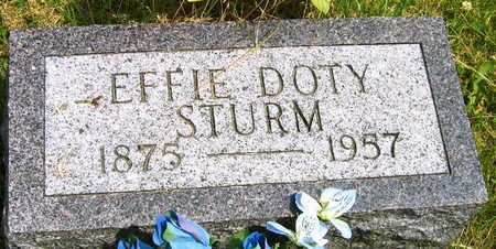 STURM, EFFIE - Linn County, Iowa | EFFIE STURM
