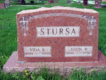 STURSA, JOHN W. - Linn County, Iowa | JOHN W. STURSA