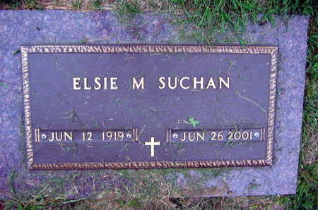 SUCHAN, ELSIE M. - Linn County, Iowa | ELSIE M. SUCHAN