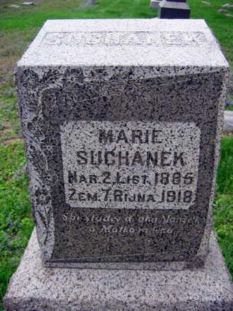SUCHANEK, MARIE - Linn County, Iowa | MARIE SUCHANEK