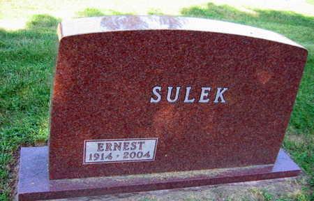 SULEK, ERNEST - Linn County, Iowa | ERNEST SULEK