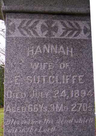 SUTCLIFFE, HANNAH - Linn County, Iowa | HANNAH SUTCLIFFE