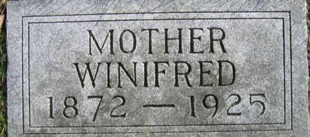 SVOBODA, WINIFRED - Linn County, Iowa   WINIFRED SVOBODA