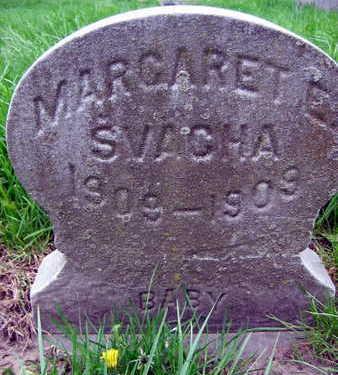 SVACHA, MARGARET  E. - Linn County, Iowa   MARGARET  E. SVACHA