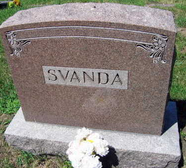 SVANDA, FAMILY STONE - Linn County, Iowa | FAMILY STONE SVANDA