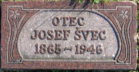 SVEC, JOSEF - Linn County, Iowa | JOSEF SVEC