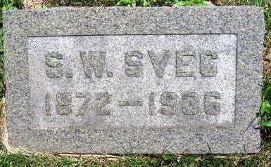 SVEC, S. W. - Linn County, Iowa | S. W. SVEC