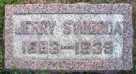 SVOBODA, JERRY - Linn County, Iowa | JERRY SVOBODA