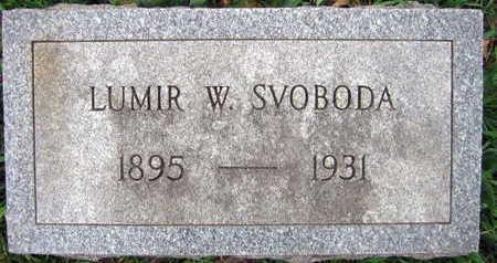 SVOBODA, LUMIR W. - Linn County, Iowa | LUMIR W. SVOBODA
