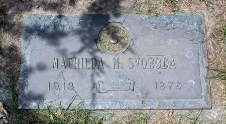SVOBODA, MATHILDA M. - Linn County, Iowa | MATHILDA M. SVOBODA