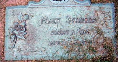 SVOBODA, MARY - Linn County, Iowa | MARY SVOBODA