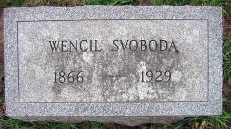 SVOBODA, WENCIL - Linn County, Iowa | WENCIL SVOBODA