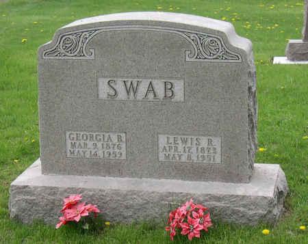 SWAB, GEORGIA B. - Linn County, Iowa | GEORGIA B. SWAB
