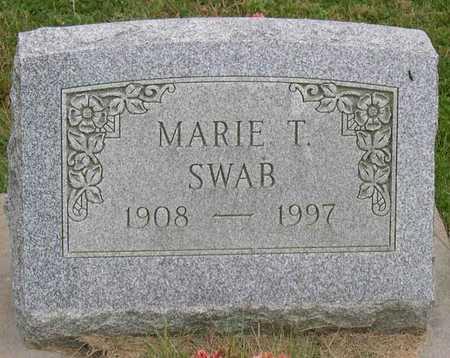 SWAB, MARIE T. - Linn County, Iowa   MARIE T. SWAB