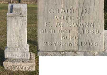 SWANN, GRACE D. - Linn County, Iowa   GRACE D. SWANN