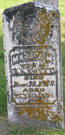 SWETT, MAHALA M. - Linn County, Iowa | MAHALA M. SWETT