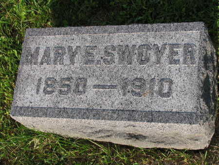 SWOYER, MARY E. - Linn County, Iowa   MARY E. SWOYER