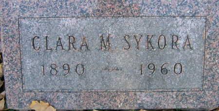SYKORA, CLARA M. - Linn County, Iowa | CLARA M. SYKORA