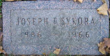 SYKORA, JOSEPH F. - Linn County, Iowa | JOSEPH F. SYKORA