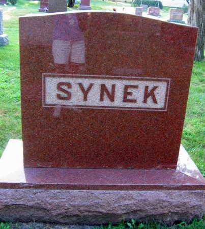 SYNEK, FAMILY STONE - Linn County, Iowa | FAMILY STONE SYNEK