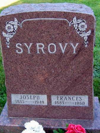 SYROVY, FRANCES - Linn County, Iowa | FRANCES SYROVY