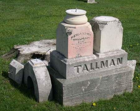 TALLMAN, BENJAMIN - Linn County, Iowa   BENJAMIN TALLMAN