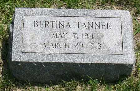 TANNER, BERTINA - Linn County, Iowa | BERTINA TANNER