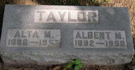 TAYLOR, ALBERT M. - Linn County, Iowa   ALBERT M. TAYLOR