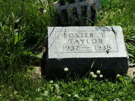 TAYLOR, FOSTER E. - Linn County, Iowa   FOSTER E. TAYLOR