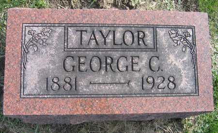 TAYLOR, GEORGE C. - Linn County, Iowa   GEORGE C. TAYLOR